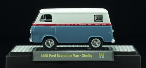 M2 Machines 1:64 Shelby 1965 Ford Econoline Van-W - Toy ... |Shelby Econoline