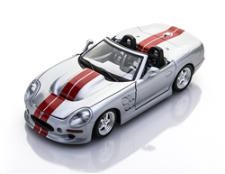 1:18 1999 Silver Shelby Series 1 Diecast