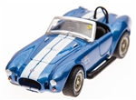 1:64 1967 Blue Shelby 427 S/C Roadster Diecast