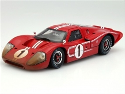 1:18 After Race 1967 Red Ford MK IV Diecast
