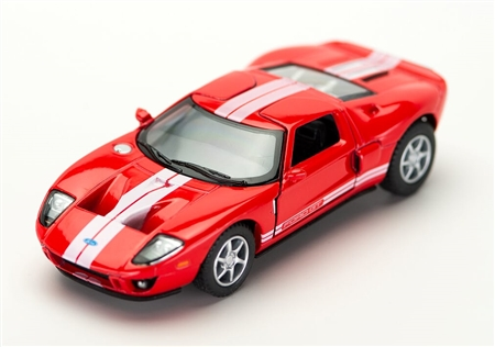 1:36 2006 Red Ford GT Diecast