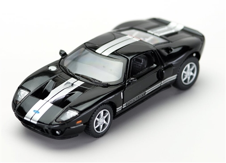 1:36 2006 Black Ford GT Diecast