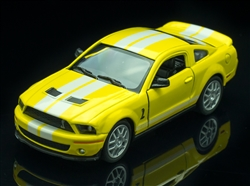 1:38 2007 Yellow GT500 Diecast