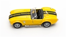 1:32 1965 Yellow Shelby Cobra Diecast