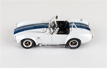 1:32 1965 White Shelby Cobra Diecast