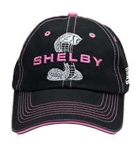 Womens Super Snake Black with Pink Hat