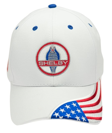 Cobra Flag White Hat