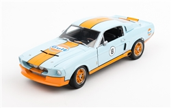 1:18 1967 Blue Shelby GT500 Diecast