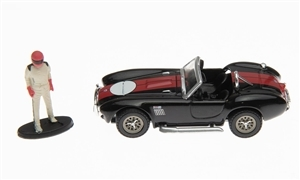 1:64 1965 Shelby Cobra 427 S/C Diecast with Race Car Driver