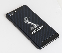 Shelby Snake Blue Carbon Fiber Phone Case