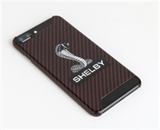 Shelby Snake Red Carbon Fiber Phone Case