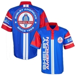 Blue and Red Sublimated Polo