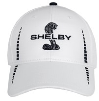 Shelby Snake White Performance Hat