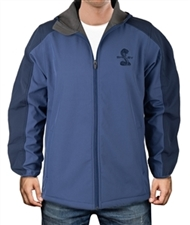 Shelby Soft Shell Navy Hooded Jacket