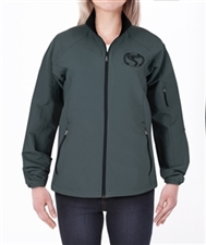 Womens Team Shelby Lightweight Charcoal Jacket