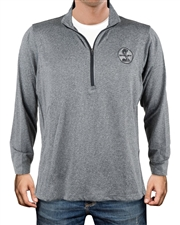 Shelby Heather Charcoal 1/2 Zip Pullover