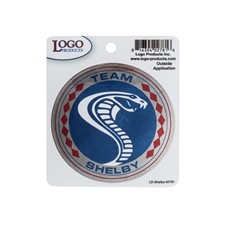 Team Shelby Medallion Decal