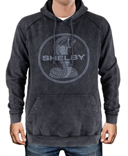 Shelby Mineral Wash Black Hoody