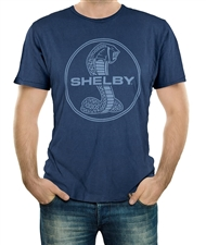 Shelby Mineral Wash Navy Tee