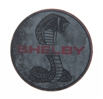 Shelby Snake Red Outline Magnet