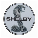 Chrome Shelby Snake Magnet