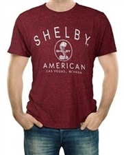 Shelby American Textured Red T-Shirt