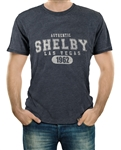 Authentic Shelby 1962 Burnout Black Tee