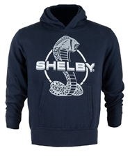 Youth Shelby Snake Navy Pullover Hoody