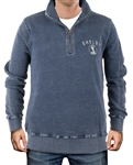 Shelby Vintage Wash Navy 1/4 Zip