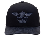 Shelby Wings Camo Bill Black Hat