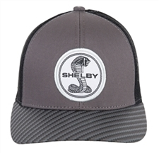 Carbon Fiber Designed Bill Grey Hat