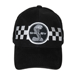 Shelby Snake Checkered Black Hat