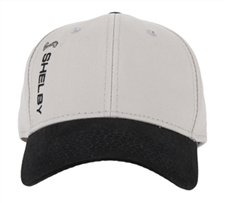Shelby Side Logo Grey and Black Hat