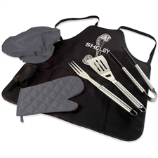 Shelby BBQ Tool & Apron Set