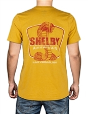 Shelby American LV Mustard Tee