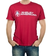 Shelby American Red Tee