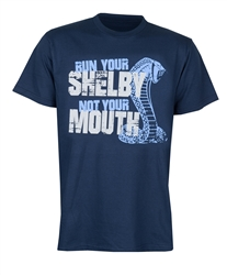 Run Your Shelby Navy Tee