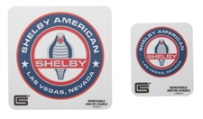 Shelby American Cobra Removable Sticker