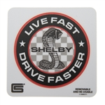 Live Fast, Drive Faster Removable Sticker