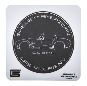 Cobra Silhouette Removable Sticker