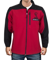 Red and Black Soft Shell Jacket