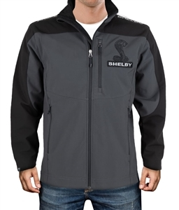 Tar Black Soft Shell Jacket