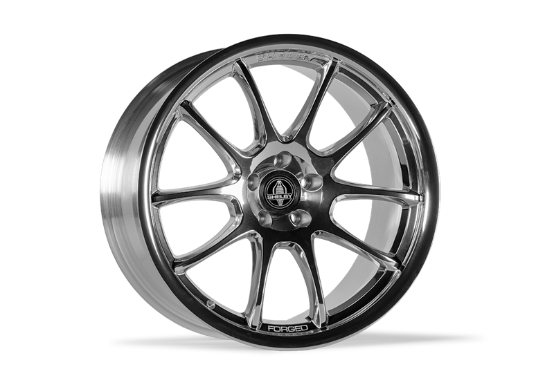 2005-2020 Carroll Shelby Signature Wheel (Polished) - 20x9.5