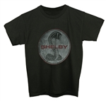 Faded Shelby Snake Youth Black Tee