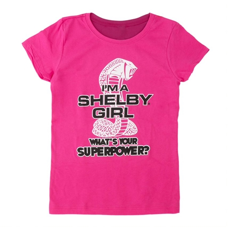 "Girls ""What's Your Superpower"" Youth Tee"