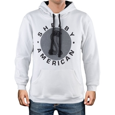 Shelby American White Pullover Hoody