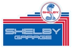 Shelby Garage Tiered Metal Sign