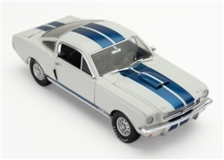 1:18 1966 White Mustang GT350 Diecast