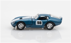 1:64 1965 Blue Shelby Cobra Daytona Coupe Diecast