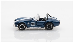 1:64 Blue Shelby Cobra 427 S/C Diecast